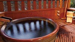 客室付 露天風呂 入浴イメージ