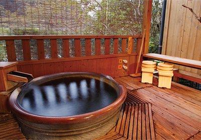 露天風呂付客室 竹林亭