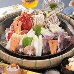 【夕食】かぐわしい磯の香りがただよう海鮮蒸し!