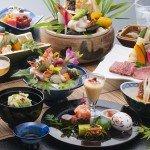 【夏の薩摩郷土料理会席グレードアップ】~一例~季節の食材をふんだんにつかったお料理