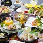 季節の食材をふんだんにつかった「薩摩郷土料理会席」(一例)~2103年~夏~