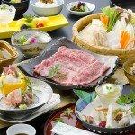 黒毛和牛と季節のお料理をふんだんに使った【すき焼きメイン】~冬の一例~