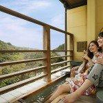 【足湯客室】霧島温泉郷の四季と美肌温泉を二人で…足湯付きだからプライベート感を満喫