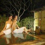 【露天風呂付き客室】特別客室の露天風呂、好きな時に好きなだけ…日頃の疲れを癒して下さい。