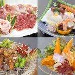 【夕食】ボリュームアップするお好きなメニューをおひとつお選びください。