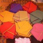 色浴衣の帯