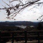 【霧島東神社】からの御池の眺めはとって綺麗です。