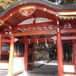 【霧島東神社】 本殿への入り口